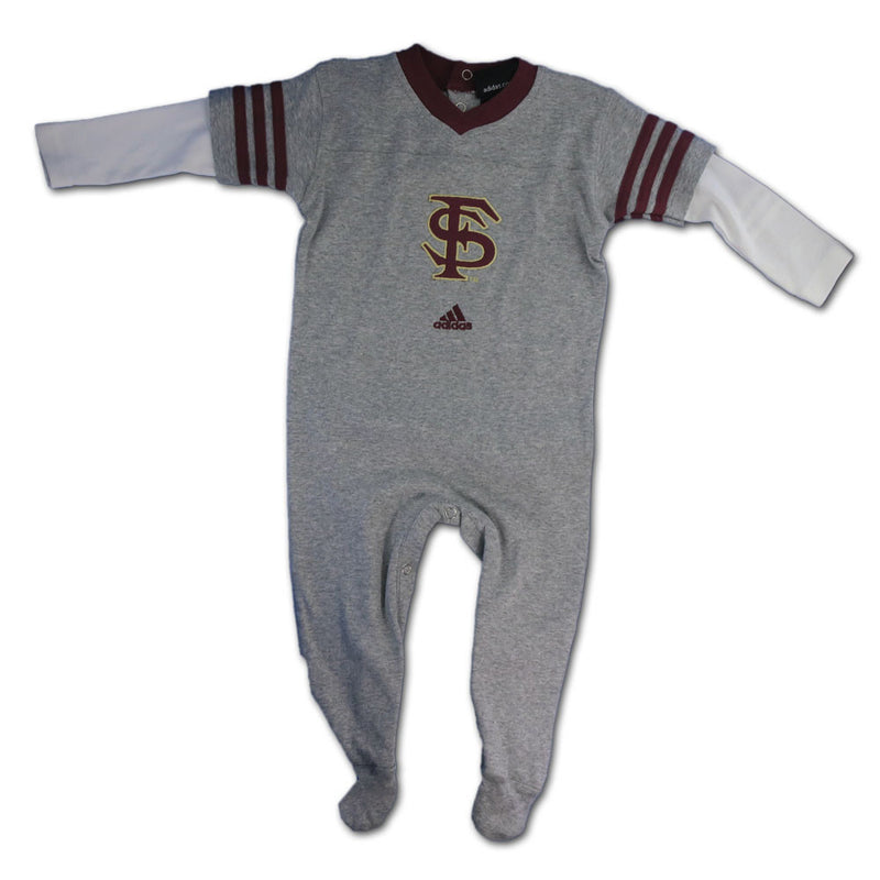 Seminoles Grey Layered Sleeve Sleeper