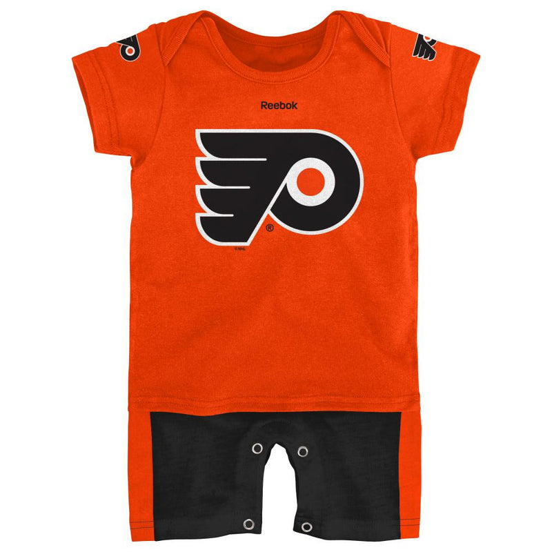 Flyers Hockey Newborn Jersey Romper