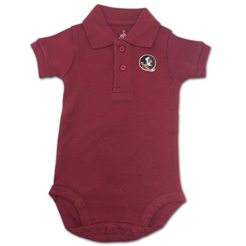 Florida State Baby Clothing Golf Shirt Romper