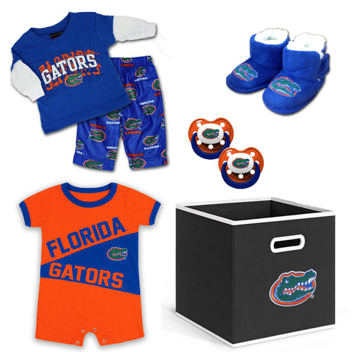 Florida Baby Boy Gift Set with Storage Cube