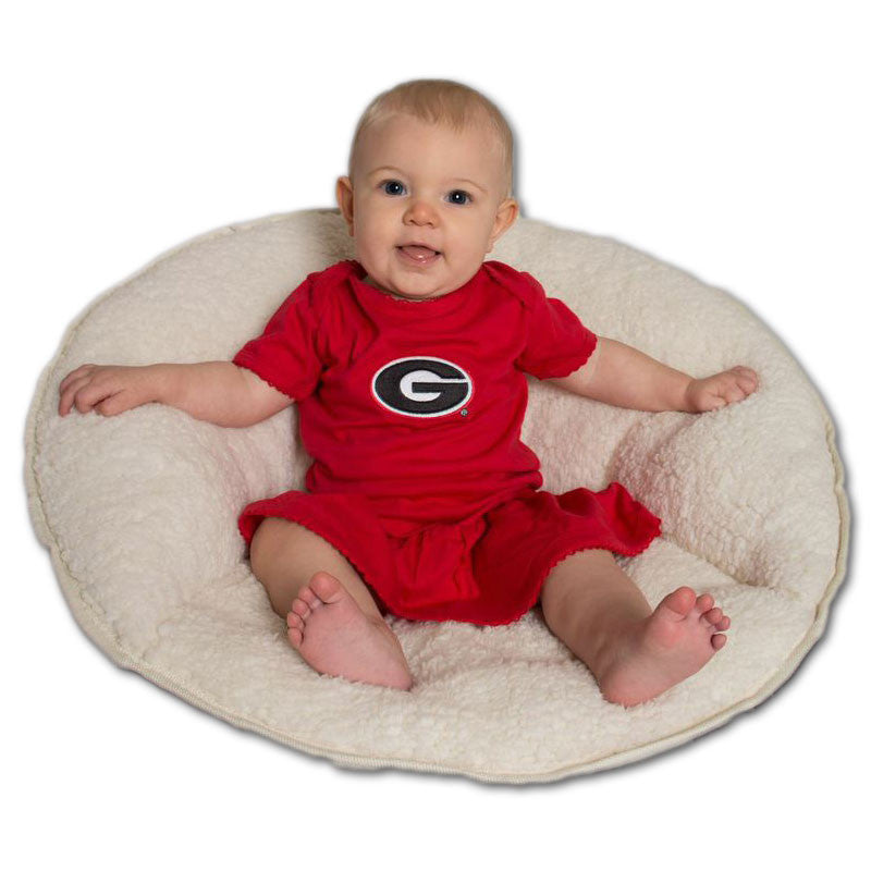 Georgia Bulldog Skirted Dress