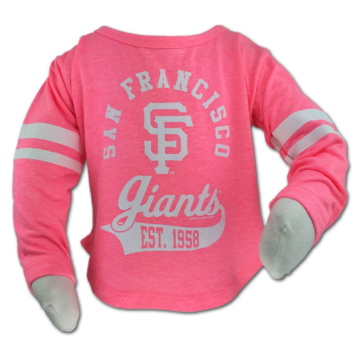 Giants Pink Kid's Classic Tee