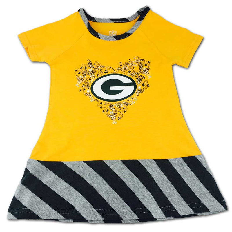 Packers & Butterflies Dress