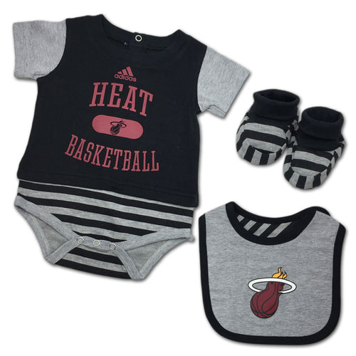new concept e34ec 3cbee Miami Heat Baby Clothing and Kids Apparel – babyfans