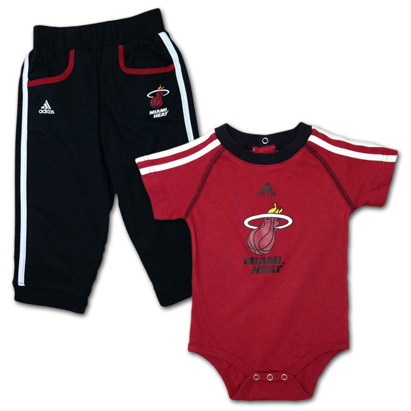 Miami Heat Little Sport Creeper & Pants