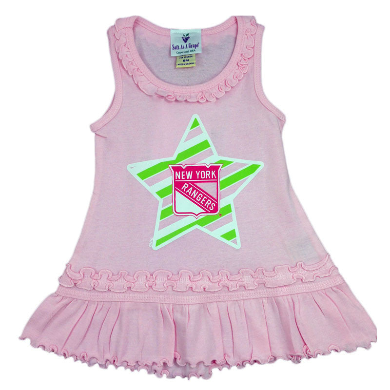 NY Rangers Infant Pink Dress