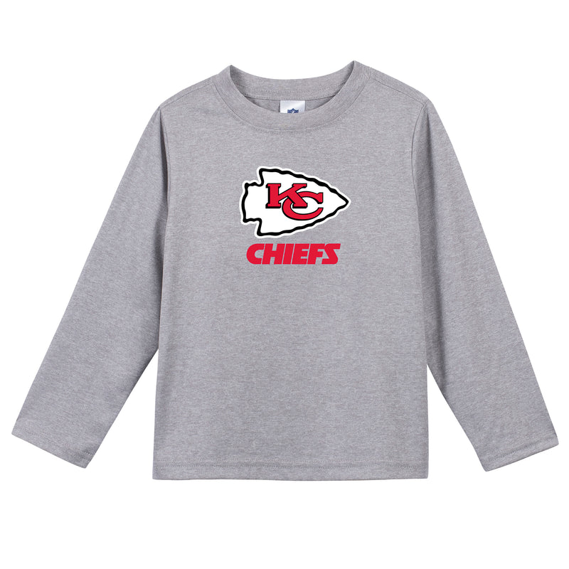 Kansas City Chiefs Boys Long Sleeve Tee