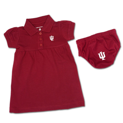 Indiana Polo Dress with Embroidered Bloomers