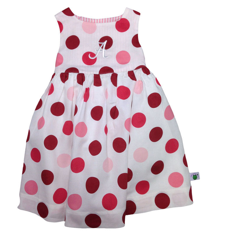 Bama Baby Girl Polka Dot Dress