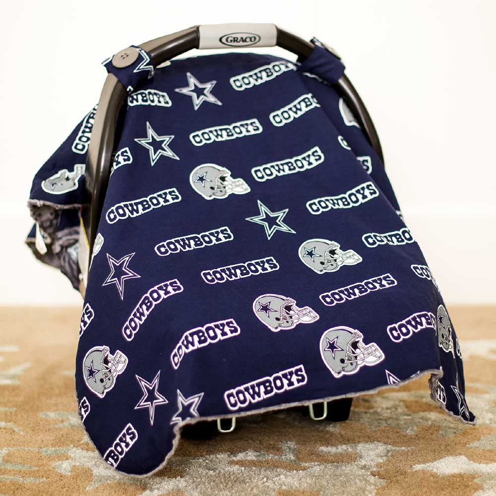 Dallas Cowboys Car Seat Canopy  sc 1 st  BabyFans.com & Dallas Cowboys Car Seat Canopy u2013 babyfans