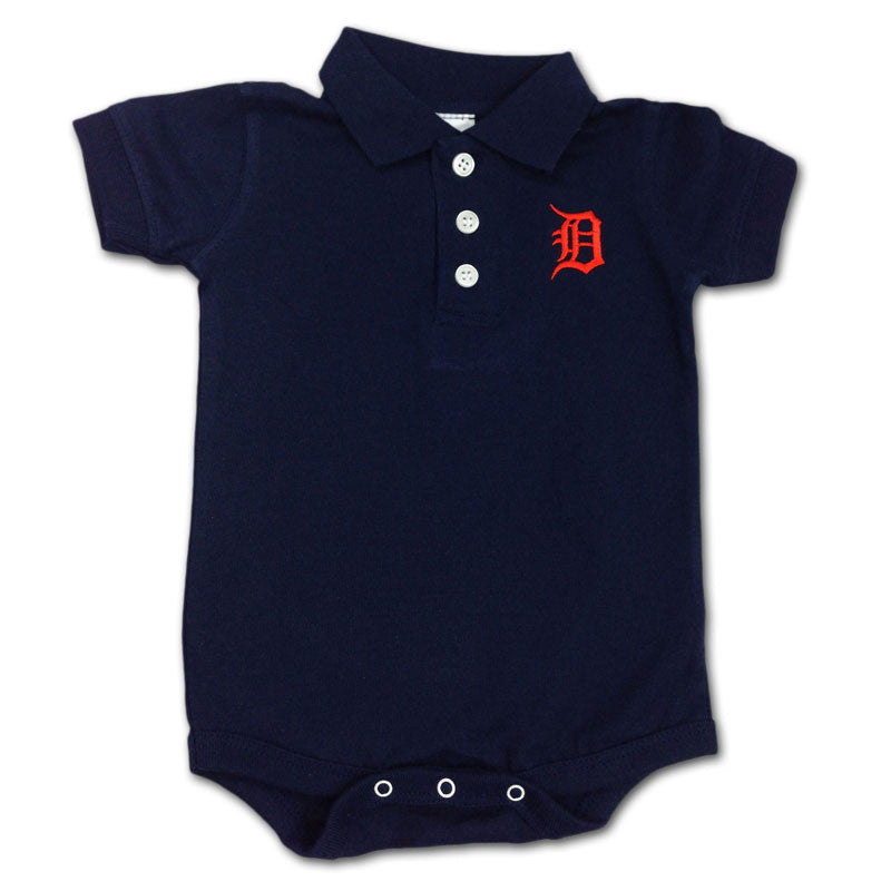 Tigers Infant Golf Shirt Creeper