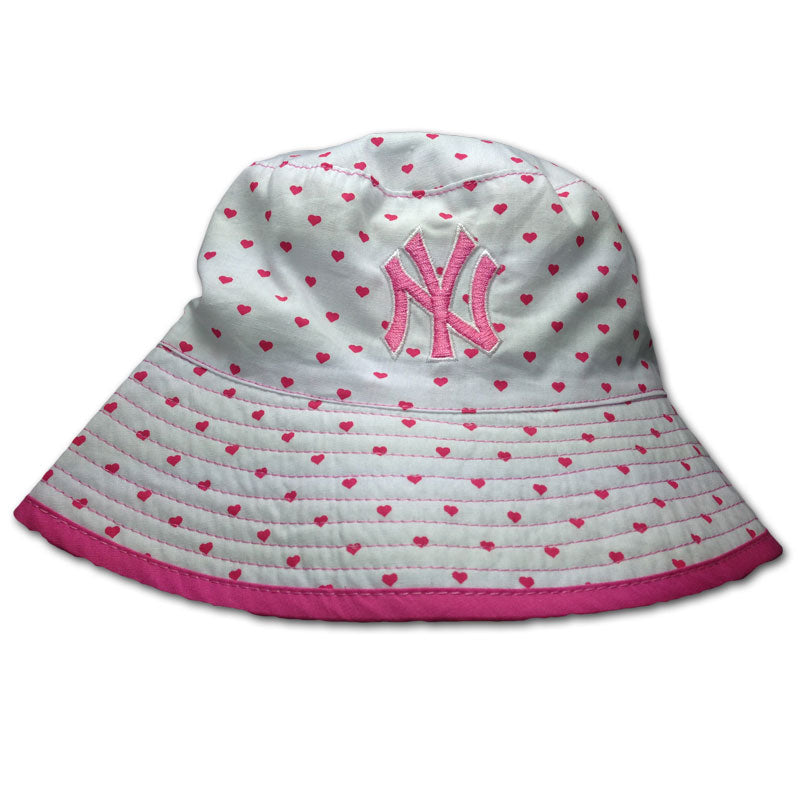 Baby Yankees Reversible Hearts Hat