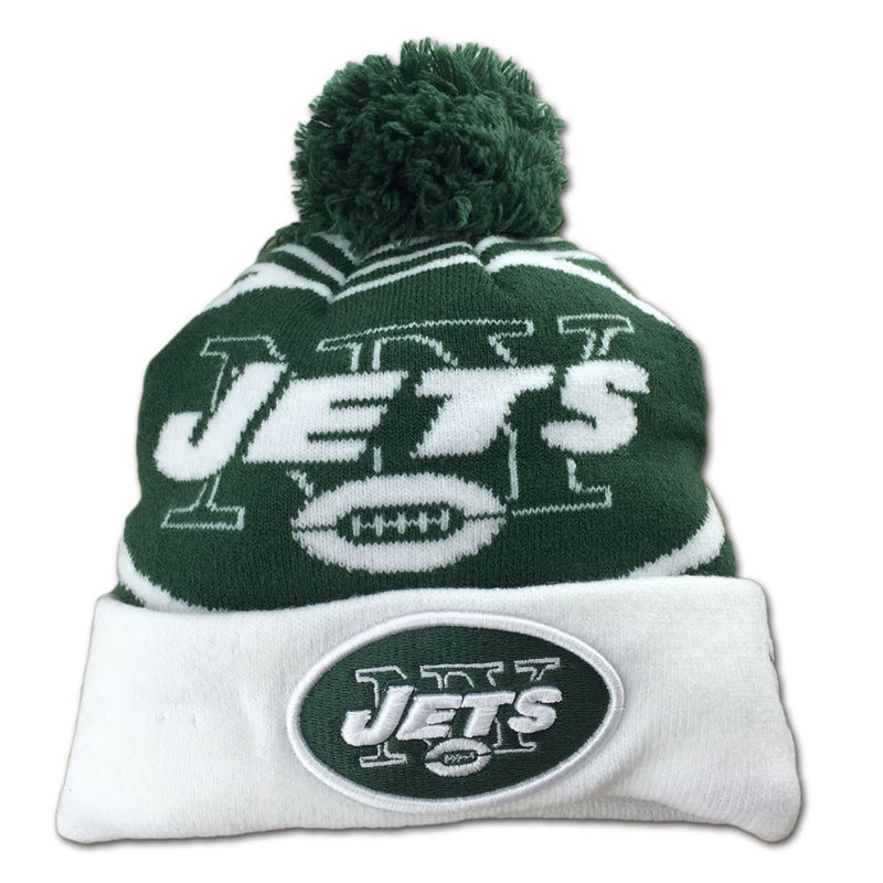 Jets Toddler Chilly Day Hat