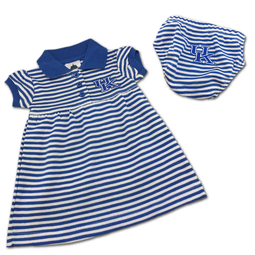 Kentucky Striped Polo Dress with Bloomers