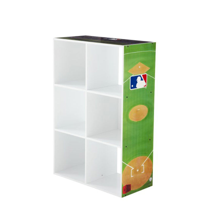6-Cube MLB Storage Unit
