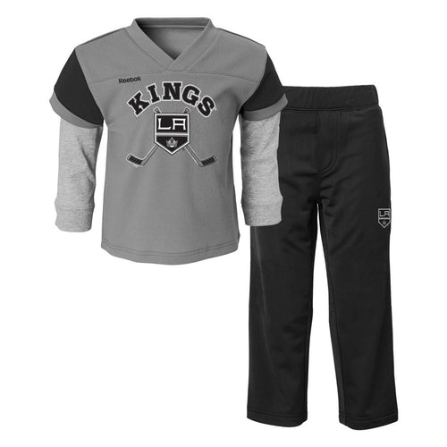 Kings Layered Shirt and Pants Set