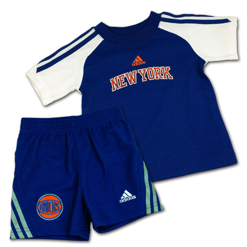 Knicks Baby Team Color Shirt and Short Set
