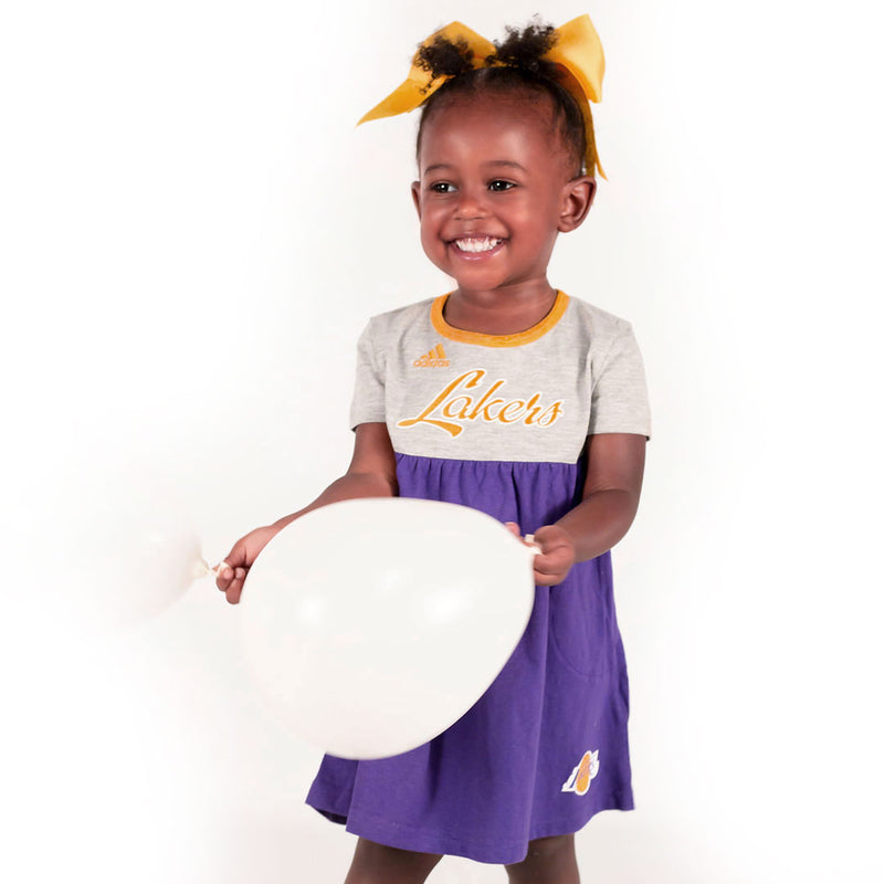 Los Angeles Lakers Baby Doll Dress