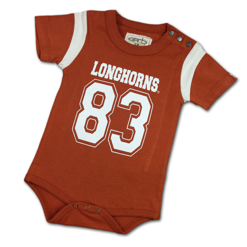 Longhorns Baby Team Bodysuit