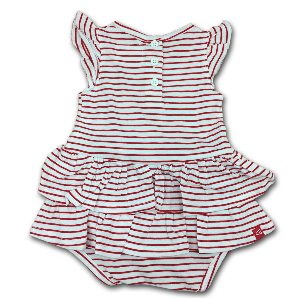 Maryland Stripes N Ruffles Skirted Romper Babyfans