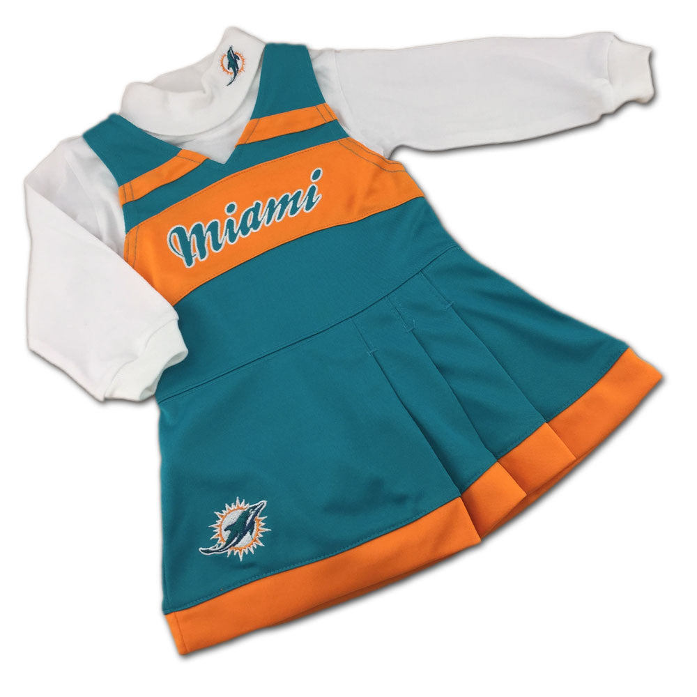new product 1cd81 ab8ad Miami Dolphins Cheerleader Dress