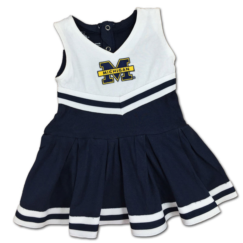 Michigan Infant Cotton Cheerleader Dress