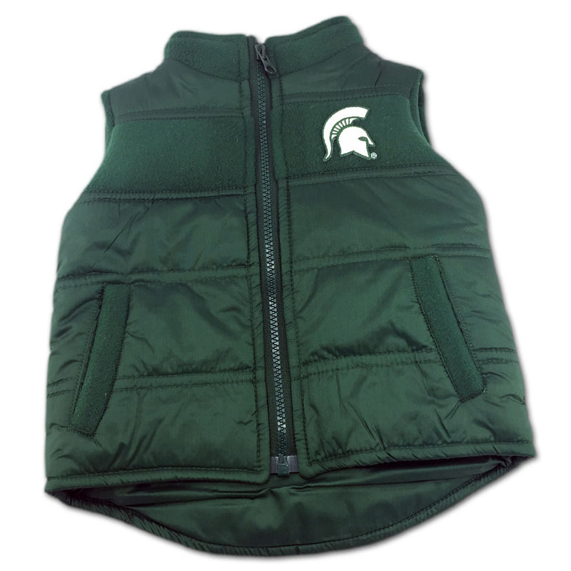 Michigan State Toddler Puffy Vest