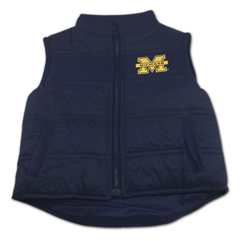 Michigan Toddler Puffy Vest