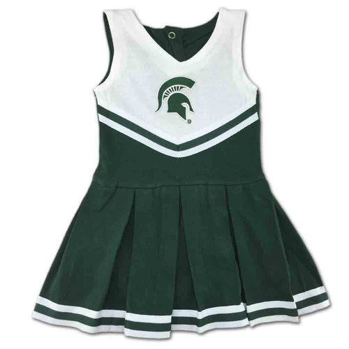 Michigan State Infant Cotton Cheerleader Dress