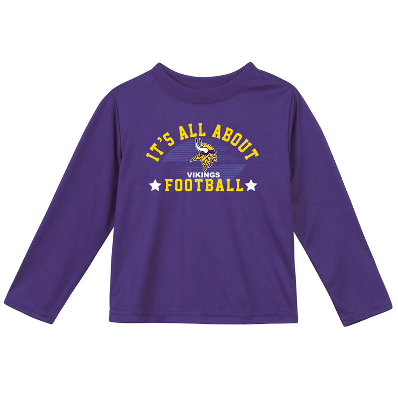 Minnesota Vikings Long Sleeve Tee