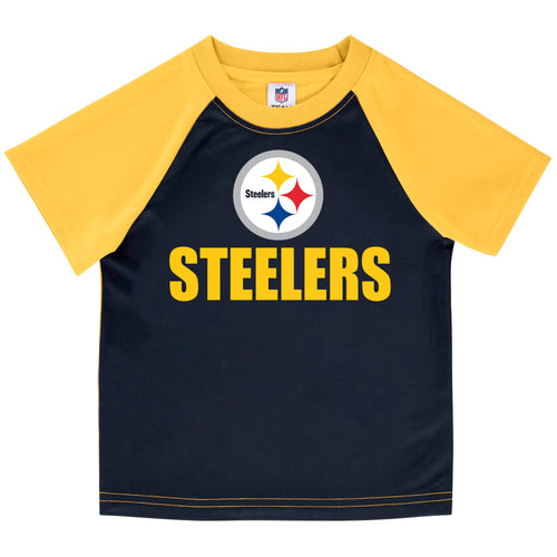 Pittsburgh Steelers Boys Short Sleeve Tee