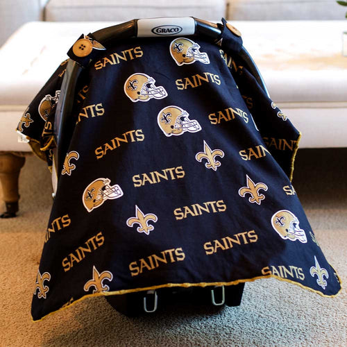 New Orleans Saints Car Seat Canopy