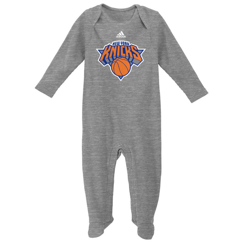 Knicks Basketball Newborn Thermal Coverall