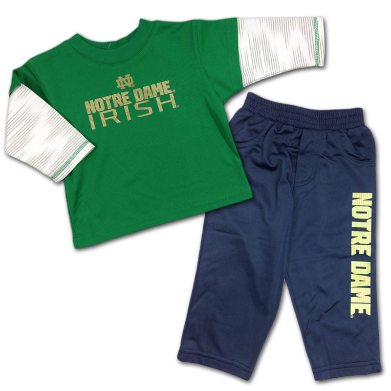 Fighting Irish Baby Playtime Pant Set