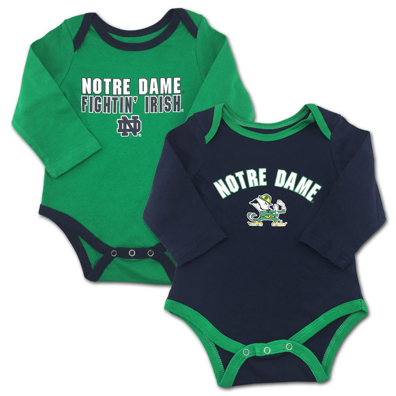 Fighting Irish Fan Bodysuit 2-Pack