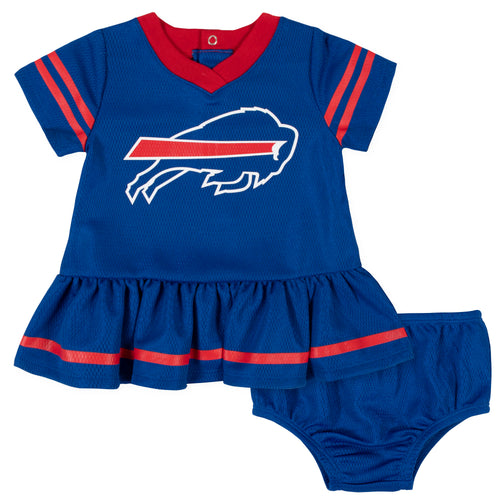 Bills Baby Girl Team Dress with Bloomers