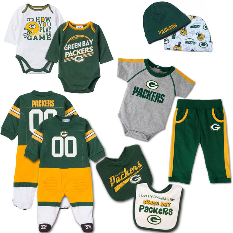 Green Bay Packers Baby Fan Gift Set