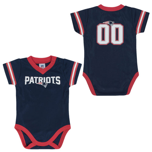 newest a519d 0f5d7 New England Patriots Baby Clothing - Babyfans.com – babyfans