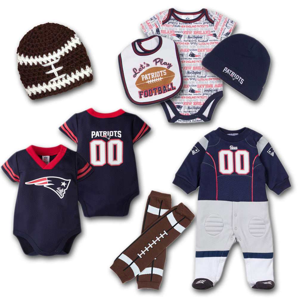 premium selection 75d55 90c7b New England Patriots Baby Fan Gift Set