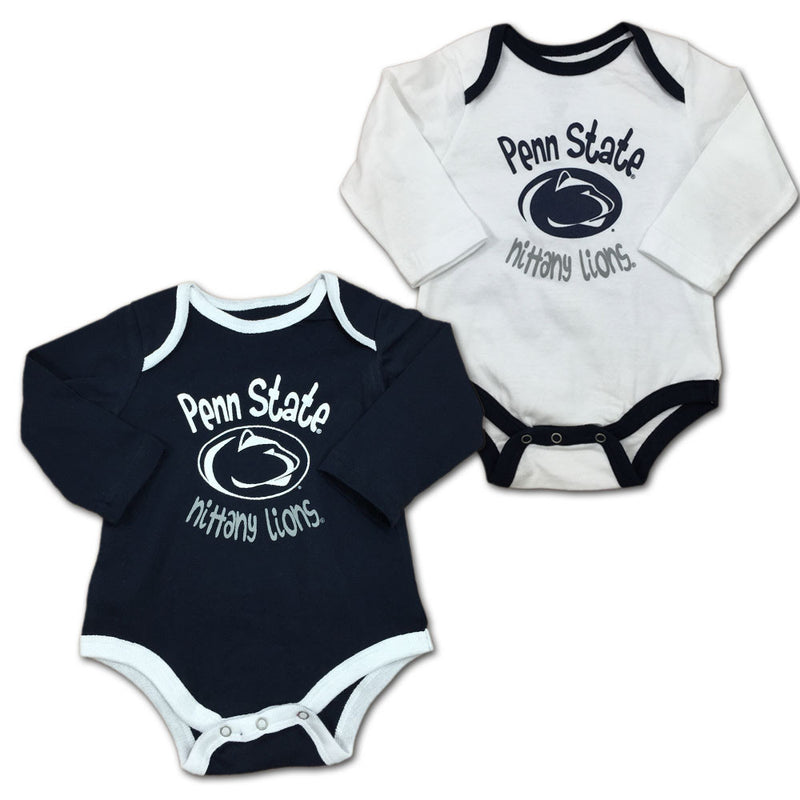 Penn State Fan Bodysuit 2-Pack