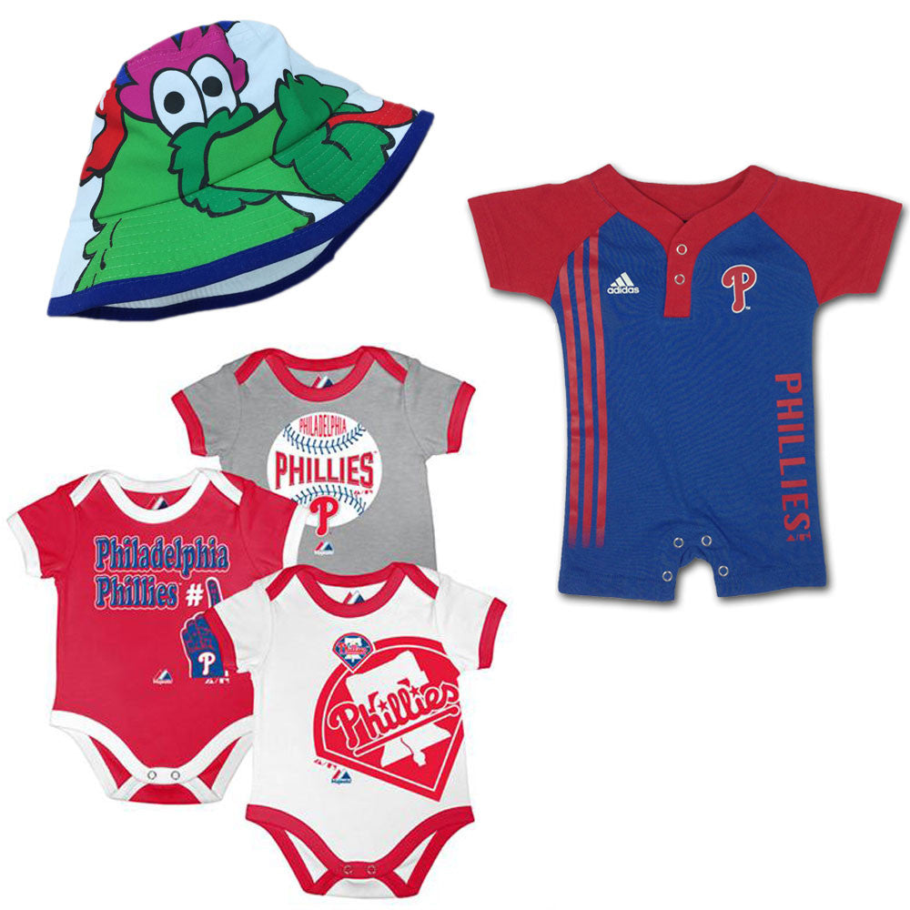 Philadelphia phillies baby clothes babyfans babyfans phillies infant boy gift set negle Image collections