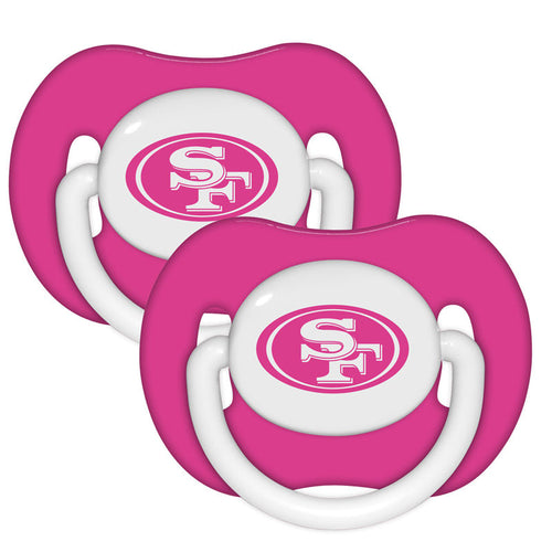 49ers Pink Pacifiers