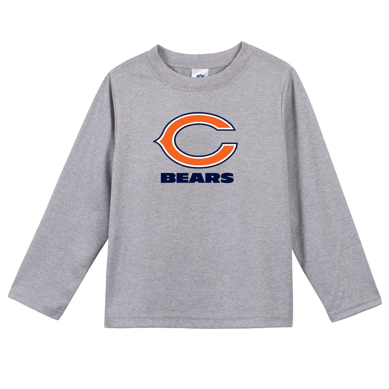 Chicago Bears Boys Long Sleeve Tee