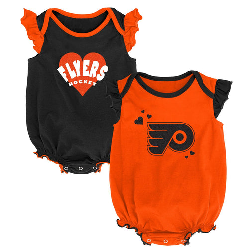 Flyers Baby Girl Duo Bodysuit Set