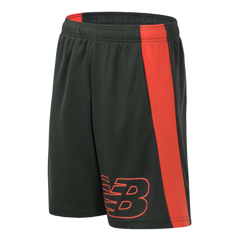 New Balance Boys Defense Green Performance Short