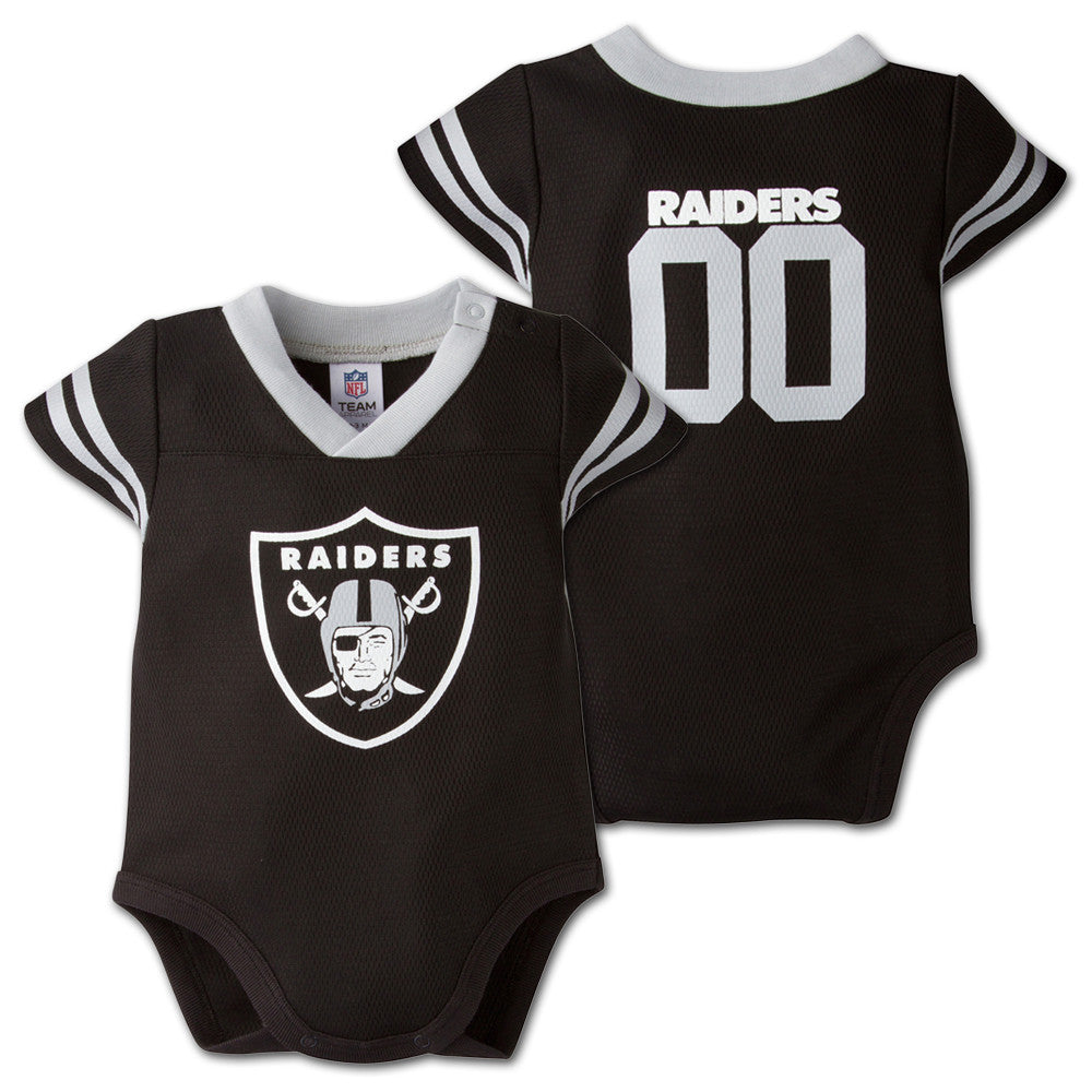 Baby Raiders Football Jersey Onesie Babyfans