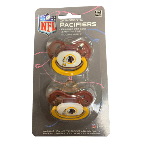 Washington Redskins Team Pacifiers