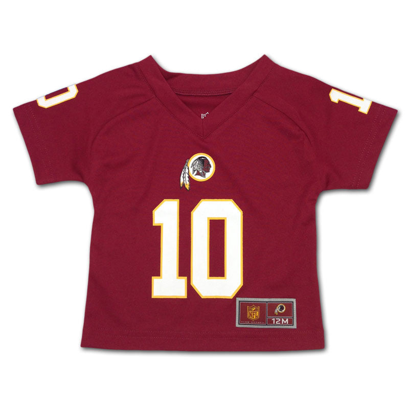 Baby Redskins Griffin III V-Neck Jersey Tee