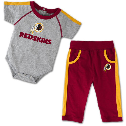 Baby Redskins Short Sleeved Creeper & Pants Outfit