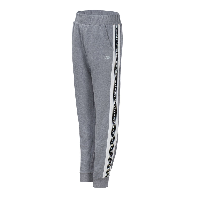 New Balance Girls Grey Heather Terry Jogger
